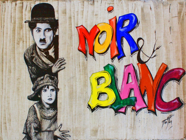 Charlie Chaplin by Perfly